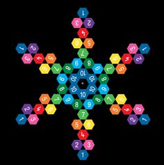 Hexagon-Hopscotch-Playground-Marking product image.