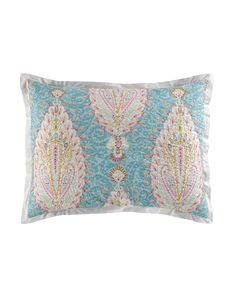 King Valentina Sham, Blue - Dena Home