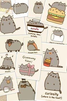 More Pusheen Cat! :D More!