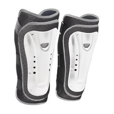 Tenn MX/DH/BMX Padded Cycling Shin Guards White S/M by Tenn-Outdoors. $21.99. Another outstanding value product manufactured and brought to you by Tenn Outdoors. Brand new for Summer 2011, we introduce our Hard Shell Shin Guards which represent incredible value for money. Our long length guards give up to 34 cm overall length of protection. Behind the 3 exterior Velcro bindings is an additional Neoprene support, also secured with strong Velcro that secures at th...