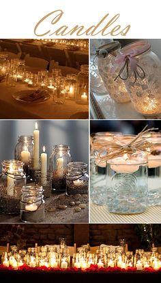 Mason jars wedding our wedding, fall wedding, rustic wedding, d Wedding 2015, Fall Wedding, Rustic Wedding, Our Wedding, Dream Wedding, Wedding Wishes, Mason Jars, Mason Jar Crafts, 50th Wedding Anniversary