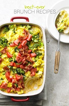 Weekends are best celebrated with a delicious brunch! Try some of our best brunch recipes soon: https://www.bhg.com/recipes/breakfast/brunch/brunch-recipe-ideas/?socsrc=bhgpin112313bestbrunchrecipes #breakfast #recipes #brunch #easy #recipe