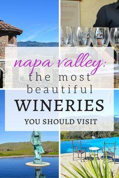 Wineries to Visit in Napa Valley >> my favorite! | www.apassionandapassport.com