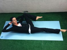 change up your ab routine with the side bicycle #abs #fitness #workout