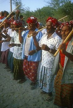 Men performing traditional dance, Seyun, Hadhramaut, Yemen
