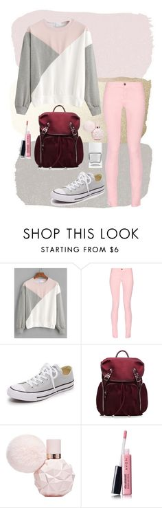 """Sweater"" by tonia-ro ❤ liked on Polyvore featuring Maison Kitsuné, Converse, M Z Wallace, Avon and Nails Inc."