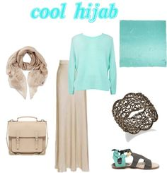 """cool hijab"" by ilsiyar ❤ liked on Polyvore"