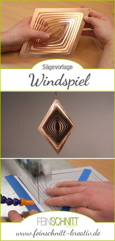 Hobbies And Crafts, Diy And Crafts, Laser Cutter Ideas, Wood Crafts, Class Ring, Mandala, Jewelry, Products, Picture On Wood