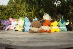 CrochetGiftsbyCielo — My Eeveelutions amigurumi! Made to order and...