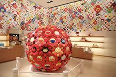 Very Colorful. Takashi Murakami for Louis Vuitton Omotesando Store Design