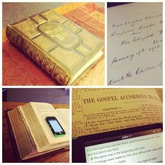 The insignificant things change with the seasons. The Significant things never change. saw this Bible from early 1900s here at LWCF. gifted to this church in 1916. love this juxtaposition. #Bible #faith #worship #church