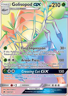 (G) First Impression If this Pokémon was on the Bench and became your Active Pokémon this turn, this attack does 90 more damage. Pokemon Go, Mew Pokemon Card, Pokemon Cards For Sale, Cool Pokemon Cards, Rare Pokemon Cards, Pokemon Eeveelutions, Pokemon Trading Card, Pokemon Memes, Cute Pokemon