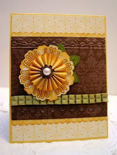 Joanne Travis, Stampin' Up Mixed Bunch -I love how she used Mixed Blossom here.