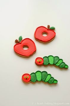 "My friend Nancy was having a ""Very Hungry Caterpillar"" themed first birthday party for her daughter Isla, and she asked me if I cou..."