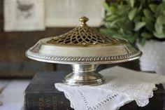 vintage Sterling Silver centerpiece #victorian #silver #sterling #vintage