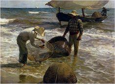 Valencian fisherman - Joaquín Sorolla