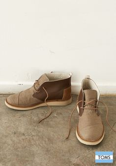 From season to season, TOMS Mateo Chukka Boots are always in style.