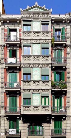 Barcelona - Balmes 106 a | Flickr - Photo Sharing!
