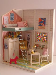 18 Amazing Do It Yourself Doll House Ideas                                                                                                                                                                                 More