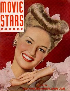 Betty Grable Movie Stars Magazine (September 1946)
