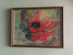 картина, картина цветы