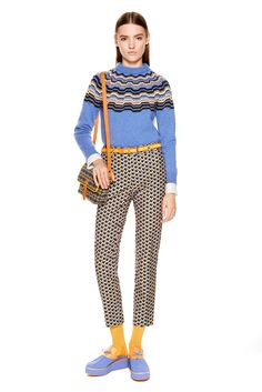 I know, there's zero crochet here, but a Missoni Fair Isle sweater I'M DYING AHH I LOVE IT (M Missoni Pre-Fall 2015)