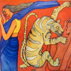 Artville Artist Of The Day  Jogen Chowdhury Medium: Oil On Canvas