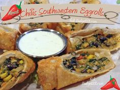 Copycat Chilis Southwestern EggrollsI am sure we can make it gf
