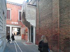 Fianco della Chiesa di S. Maria dei Carmini #Venezia #Venice #Italy
