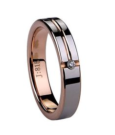 If you are dreaming about a perfect wedding, you may prepare a pair of wedding bands. The rose gold tungsten wedding bands are specially designed for women. Men's tungsten carbide wedding bands are simple and modern. The design usually features a str Matching rings