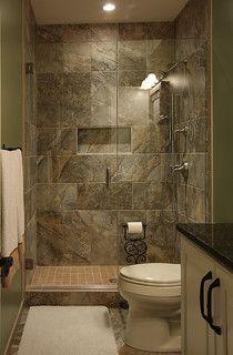 Basement Bathroom - traditional - basement - dc metro - by NVS Remodeling & Design