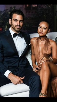 Classy Interracial Couple in Love Interacial Love, Interacial Couples, Black Woman White Man, Black Love, Black Art, Black White, Mixed Couples, Couples In Love, Interracial Family