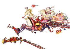 Final Fantasy VI - Pinball Mandala - Yoshitaka Amano