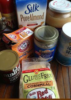 6 minute gluten-free vegan moist cornbread muffins