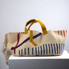 Wool Fabrique Bag / Dark Room