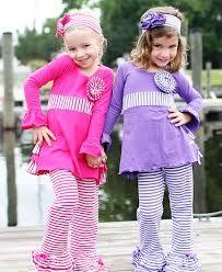 Ruffle Butts Purple Stripe Flare Pants 26.50