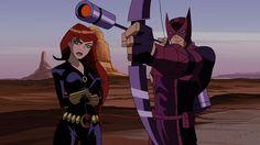 Black Widow x Hawkeye