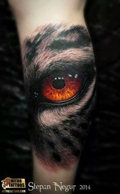 eye tattoo red more skulls tattoos body art cat eye bad tattoos eye . Wolf Tattoos, Wolf Eye Tattoo, Tigeraugen Tattoo, Tiger Eyes Tattoo, Bad Tattoos, Body Art Tattoos, Sleeve Tattoos, Tattoos For Guys, Irish Tattoos