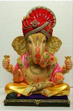 Clay Ganesha, Ganesha Art, Ganesh Images, Ganesha Pictures, Ganesh Lord, Lord Krishna, Shiva, Ganpati Picture, Shani Dev