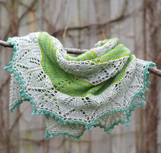 Ravelry: redpepperquilts' Germinate Shawl