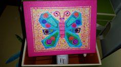 Butterfly Nighlight #skiptomyroom www.skiptomyroom.com  $29.00