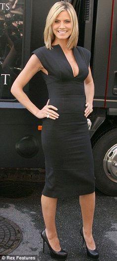 Heidi Klum in Victoria Beckham 2 of my favorite things