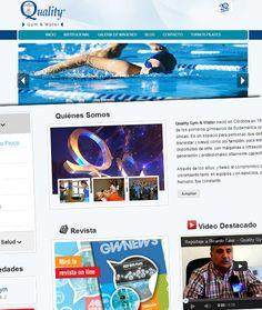 Web Quality Gym & Water http://www.qualitygym.com.ar/index.php