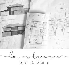 Architect house plans...The master plan for our lover dreamer beach house!