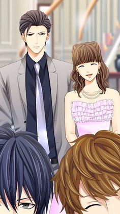 """otomegameslover: """"lntellectual: """"otomegameslover: """"Kissed By The Baddest Bidder JP (Soryu Oh) The party end CG! Inui and Samejima photobombed pfft XD """" This is too perfect. XD """" Ain't it so perfect...:"""
