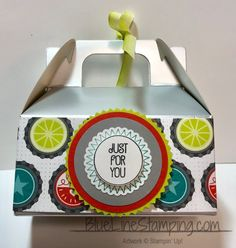 Stampin' Up! Silver Mini Gable Boxes, Jackie Beers, stampinup, mini gable boxes, gable boxes, jackiebeers