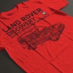 Haynes Workshop Manual 3016 Land Rover Discovery Black Men's T-Shirt: Amazon.co.uk: Clothing