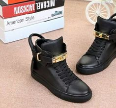 99.90$  Watch now - http://alielv.worldwells.pw/go.php?t=32791361602 - New Design women Genuine Leather Solid Color height-increasing High-top fashion Lock Lace-up Casual Shoes Big Size 34-40 99.90$