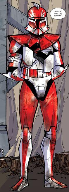 Clone Commander Ganch