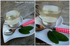 acqua di salvia tisana digestiva e antiffiamotoria - nella cucina di laura